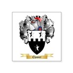 Chasier Square Sticker 3
