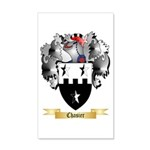 Chasier 20x12 Wall Decal