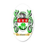 Chaser Oval Car Magnet