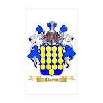 Charvin Sticker (Rectangle 50 pk)