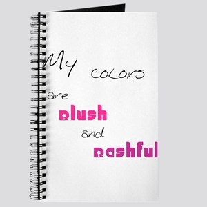 Blush and Bashful Journal