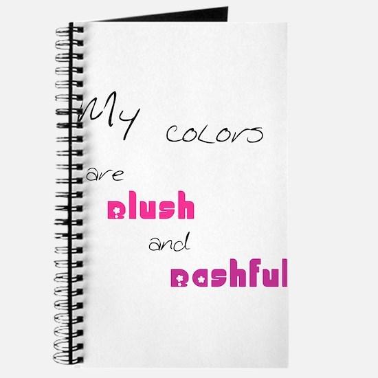 Blush and Bashful Journal