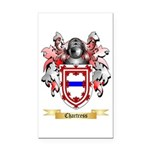 Chartress Rectangle Car Magnet