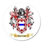 Chartress Round Car Magnet