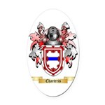 Charteris Oval Car Magnet