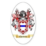 Charteris Sticker (Oval 50 pk)
