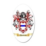 Charteris 20x12 Oval Wall Decal