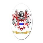 Charteris 20x12 Oval Wall Decal