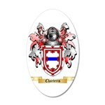 Charteris 35x21 Oval Wall Decal