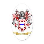 Charter Oval Car Magnet