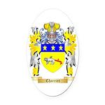 Charrier Oval Car Magnet