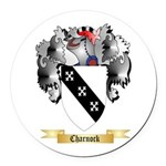 Charnock Round Car Magnet
