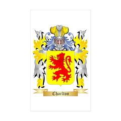 Charlton Sticker (Rectangle 50 pk)