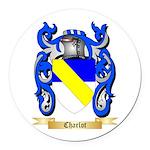 Charlot Round Car Magnet