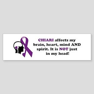 Chiari Affects... Sticker (Bumper)