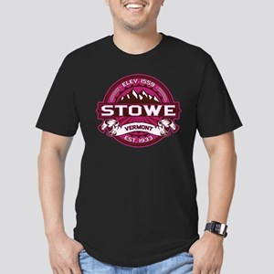 Stowe Raspberry Men's Fitted T-Shirt (dark)