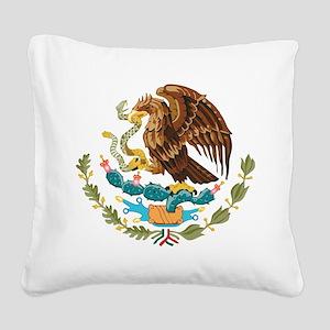 Mexico COA Square Canvas Pillow