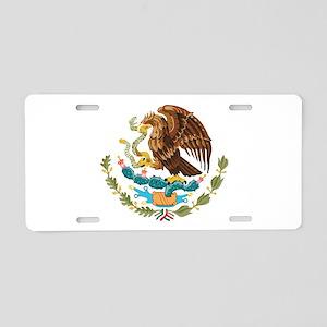Mexico COA Aluminum License Plate