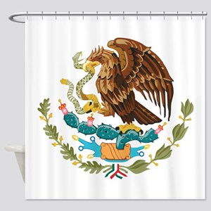 Mexico COA Shower Curtain