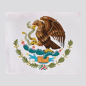 Mexico COA Throw Blanket