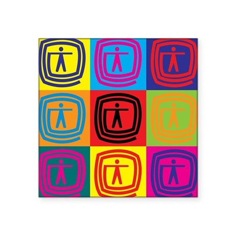 Occupational Therapy Pop Art Sticker