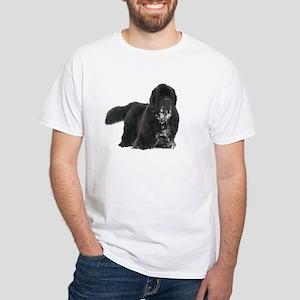 Black Newfie T-Shirt