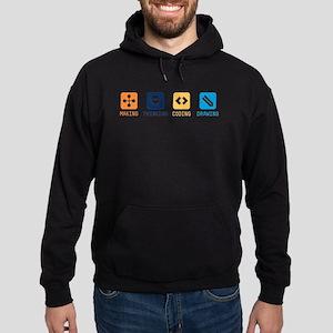 Making-Thinking-Coding-Drawing Sweatshirt