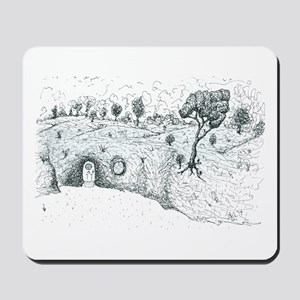 House in the Hill Mousepad