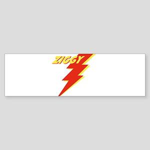 ziggyGREEN_THONG Sticker (Bumper 50 pk)