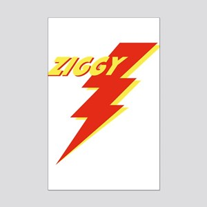 ziggyGREEN_THONG Mini Poster Print