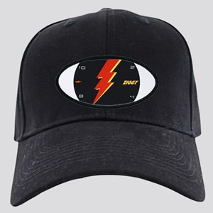ziggy clock Black Cap