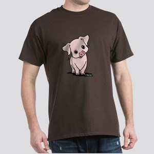 Curious Piggy Dark T-Shirt