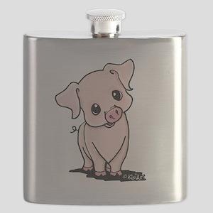 Curious Piggy Flask