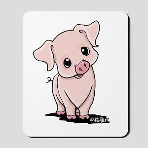 Curious Piggy Mousepad