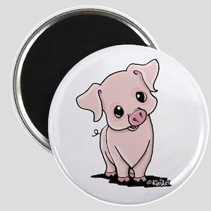 Curious Piggy Magnet