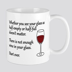 Glass Half Full Mug