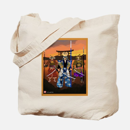 Tote Bag,, Warriors at the Gate