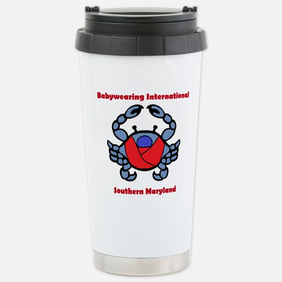 Crab Logo Travel Mug
