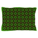 Brown and Green Megalith Pillow Case