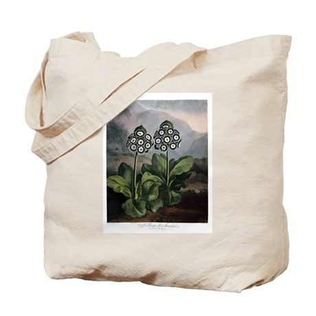 Auricula, The Temple of Flora Tote Bag