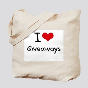 I Love Giveaways Tote Bag