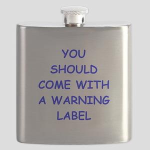 warning Flask