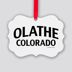Olathe Colorado Ornament