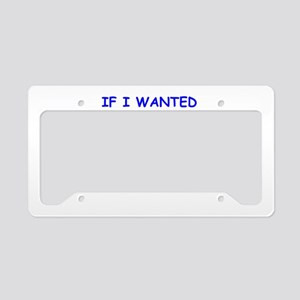 sexy License Plate Holder