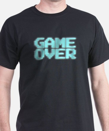 Game Over - Old 80s Arcade Screen T-Shirt