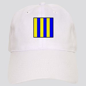 Nautical Flag Code Golf Baseball Cap