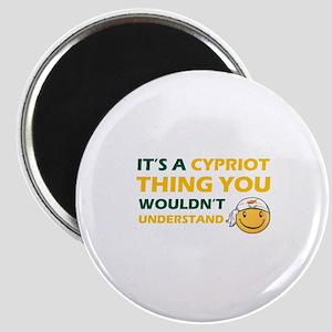 Cyprus smiley designs Magnet