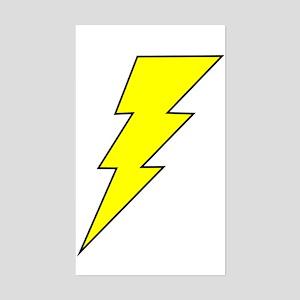 The Lightning Bolt 8 Shop Rectangle Sticker