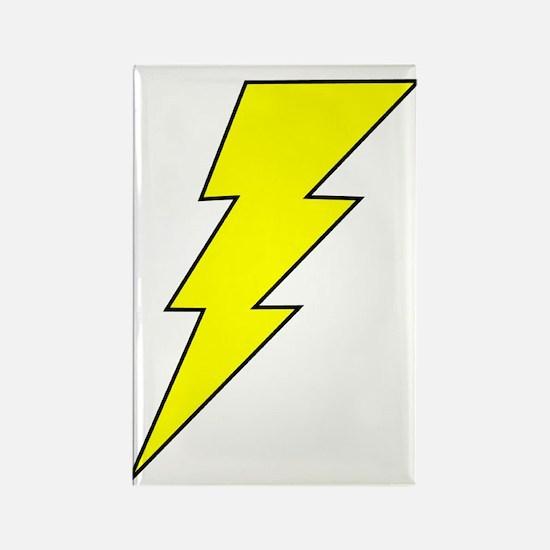 The Lightning Bolt 8 Shop Rectangle Magnet (10 pac