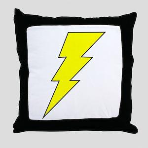 The Lightning Bolt 8 Shop Throw Pillow